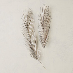 Studio A Palm Leaf - Antique Nickel - Lg