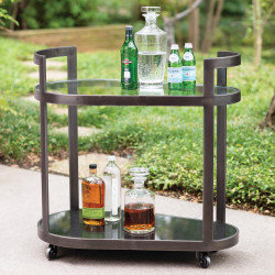 Studio A Regan Bar - Antique Gunmetal