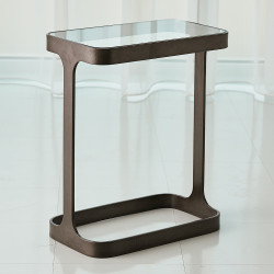Studio A Saddle Table - Bronze
