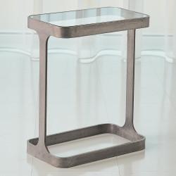 Studio A Saddle Table - Natural Iron