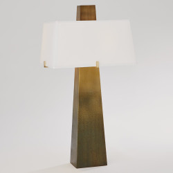 Studio A Stoic Lamp - Ombre Brass