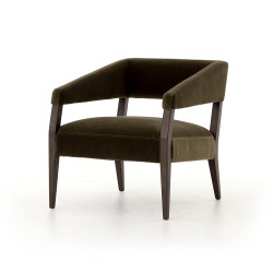 Four Hands Gary Club Chair - Olive Green