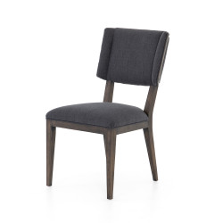 Four Hands Jax Dining Chair - Misty Black