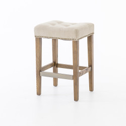 Four Hands Sean Counter Stool W/Kickplate - Desert Ca