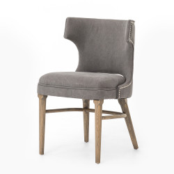 Four Hands Task Chair - Dark Moon Canvas