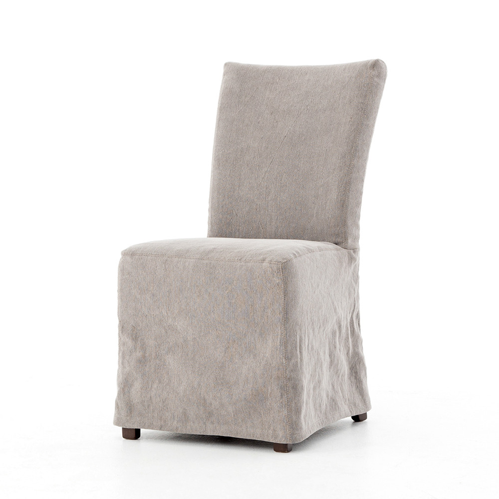 Outstanding Four Hands Vista Dining Chair Heather Twill Carbon Ocoug Best Dining Table And Chair Ideas Images Ocougorg