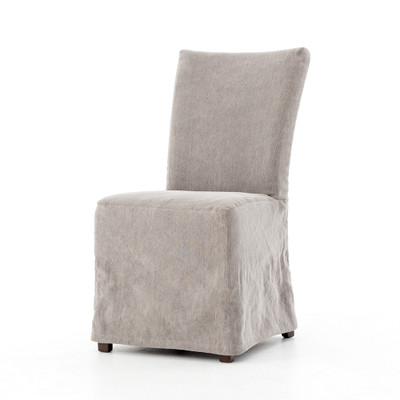 Four Hands Vista Dining Chair - Heather Twill Carbon