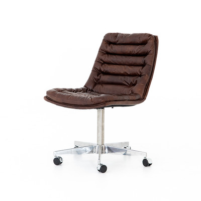 Four Hands Malibu Desk Chair - Antique Whiskey