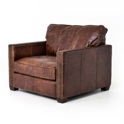 Four Hands Larkin Club Chair - Cigar