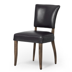 Four Hands Mimi Dining Chair - Rider Black/Weathered