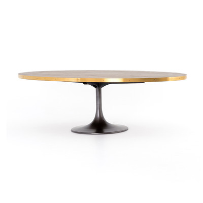 """Four Hands Evans Oval Dining Table - 98"""""""