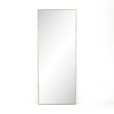 Four Hands Bellvue Floor Mirror - Polished Brass