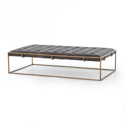 Four Hands Oxford Coffee Table - Ebony