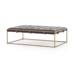 Four Hands Oxford Small Coffee Table - Ebony