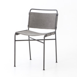 Four Hands Wharton Dining Chair - Stonewash