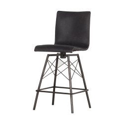 Four Hands Diaw Counter Stool - Rialto Ebony