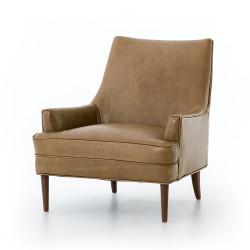 Four Hands Danya Chair - Warm Taupe Dakota