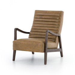 Four Hands Chance Chair - Warm Taupe Dakota