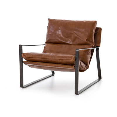 Four Hands Emmett Sling Chair - Dakota Tobacco