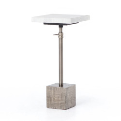 Four Hands Sirius Adjustable Accent Table - Antq Pewt