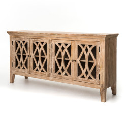 Four Hands Azalea Sideboard 4 Door - Dogwood
