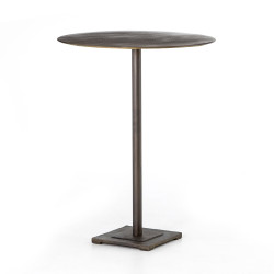 Four Hands Fannin Bar Table - Aged Brass