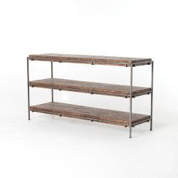 Four Hands Simien Media Console - Gunmetal