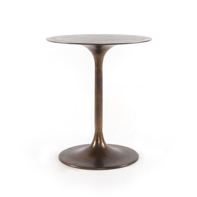 Four Hands Tulip Side Table - Antique Rust