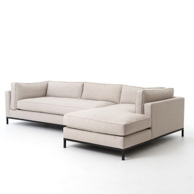 Four Hands Grammercy 2 Pc Sectional W/ Raf Chaise