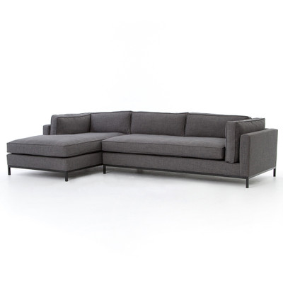 Four Hands Grammercy 2 Pc Sectional Laf Chaise - Benn