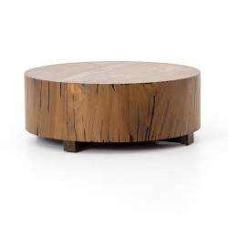 Four Hands Hudson Coffee Table - Natural Yukas