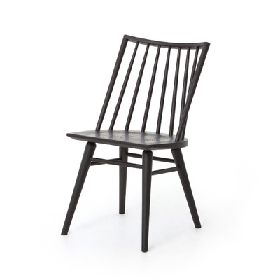 Four Hands Lewis Windsor Chair - Black Oak