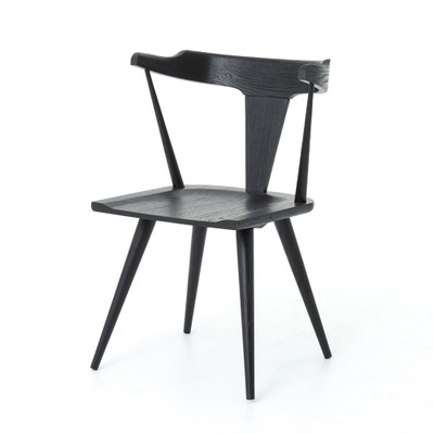 Four Hands Ripley Dining Chair - Black Oak