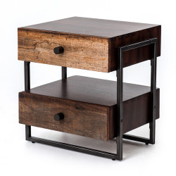 Four Hands Milo End Table