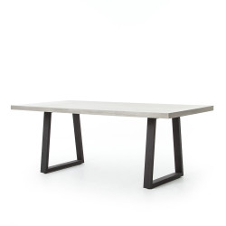 "Four Hands Cyrus Dining Table - 79"" - Grey"