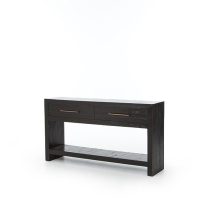 Four Hands Suki Console Table - Burnished Black