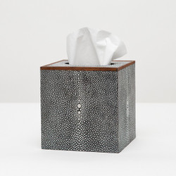 Pigeon & Poodle Manchester Tissue Box - Grey