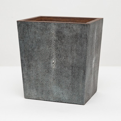Pigeon & Poodle Manchester Waste Basket - Grey - Rectangular