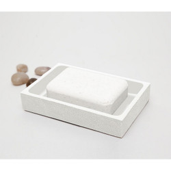 Pigeon & Poodle Manchester Soap Dish - Ivory