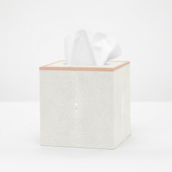 Pigeon & Poodle Manchester Tissue Box - Ivory