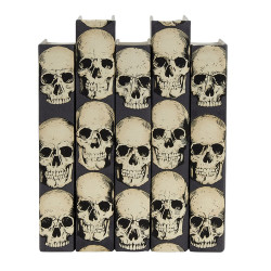 E Lawrence Rad Skulls - Gray Background