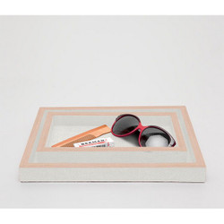 Pigeon & Poodle Manchester Tray Set - Ivory