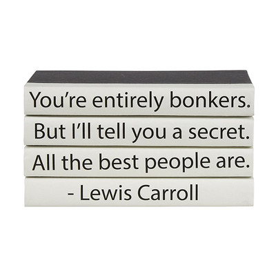 """E Lawrence 4 Vol. Quote Stack """"You'Re Entirely Bonkers..."""""""