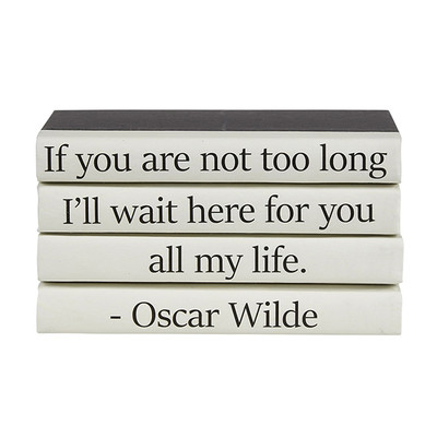 "E Lawrence 4 Vol. Quote Stack ""If You Are Not Too Long..."""