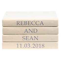E Lawrence 4 Vol. Wedding Day Announcement - Custom Stack