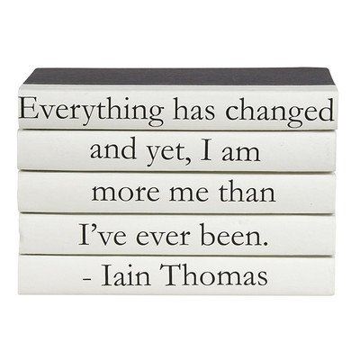 """E Lawrence 5 Vol. Quote Stack """"Everything Has Changed..."""""""