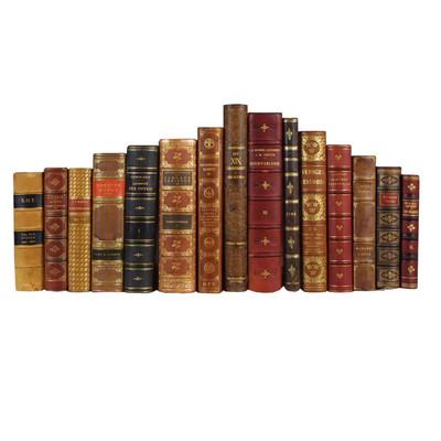 E Lawrence Best Bindings - 15 Volume Set