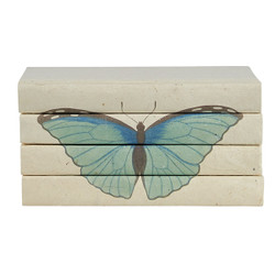 E Lawrence Blue Butterfly - Summer Azure - 4 Vol. Stack