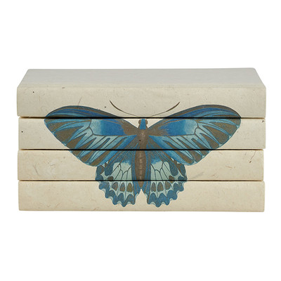 E Lawrence Butterfly Series - Blue Monarch - 4 Vol. Stack