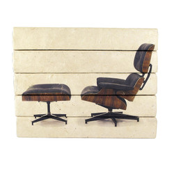 E Lawrence Eames Lounge 5 Volume Stack